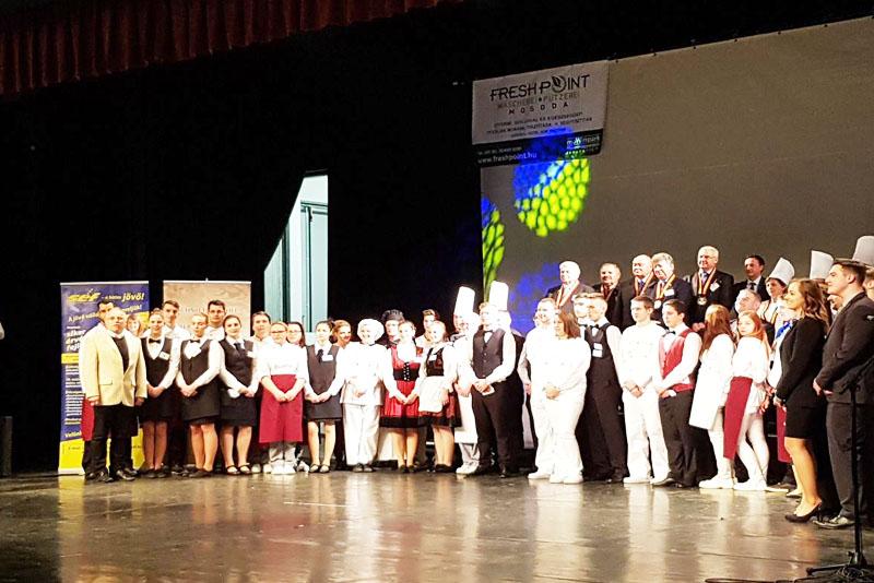 I. Concurs de talent în gastronomie, Veszprem